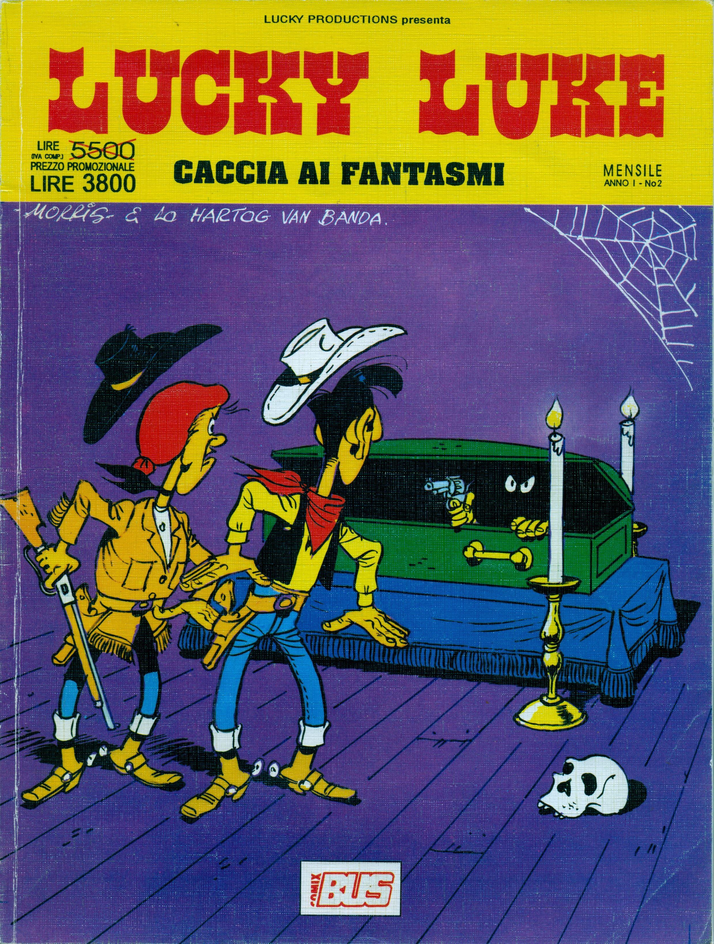 Lucky Luke - Caccia ai fantasmi