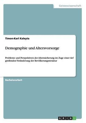 Demographie und Altersvorsorge