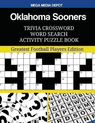 Oklahoma Sooners Trivia Crossword Word Search Activity Puzzle Book
