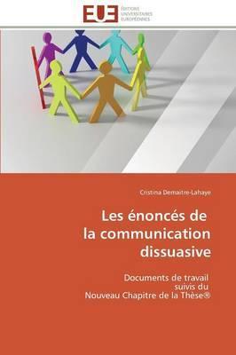 Les Enonces de  la Communication Dissuasive