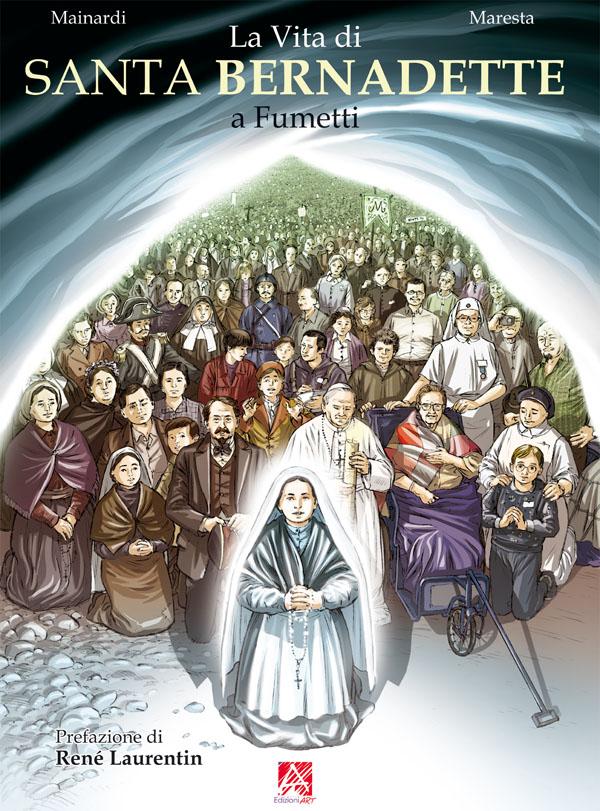 La vita di santa Bernadette a fumetti