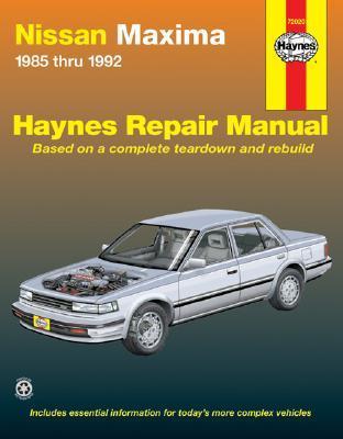 Haynes Nissan Maxima Automotive Repair Manual