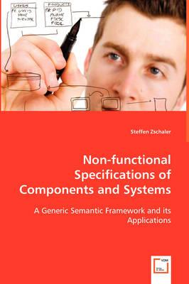 Non-functional Specifications of Components and Systems