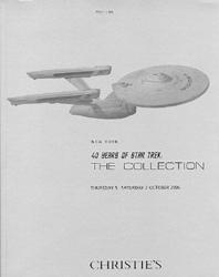 Christie's 40 Years of Star Trek Vol. 1