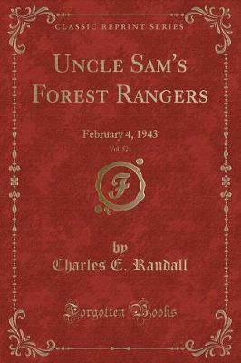 Uncle Sam's Forest Rangers, Vol. 521