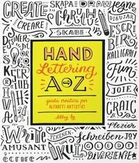 Hand lettering A-Z. ...