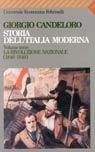Storia dell'Italia moderna - Vol. III