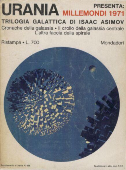 Millemondi 1971 : Trilogia galattica di Isaac Asimov