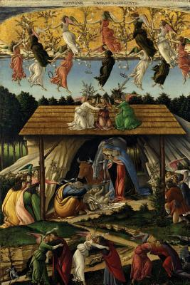 Sandro Botticelli's 'the Mystical Nativity' Art of Life Lined Journal