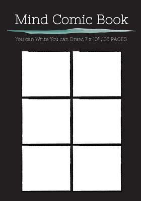 Mind Comic Book, 6 Panel Blank Comic Book