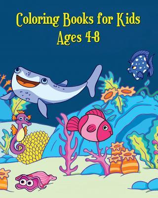 Coloring Books for Kids Ages 4-8