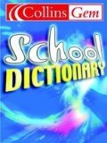 School Dictionary: Blue Cover