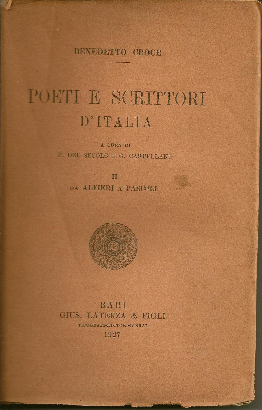 Poeti e scrittori d'...