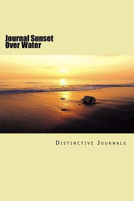 Sunset over Water Journal