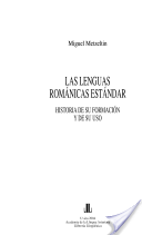 Las lenguas románicas estándar