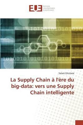 La Supply Chain à l'ère du big-data