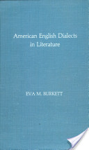 American English Dialects in Literature