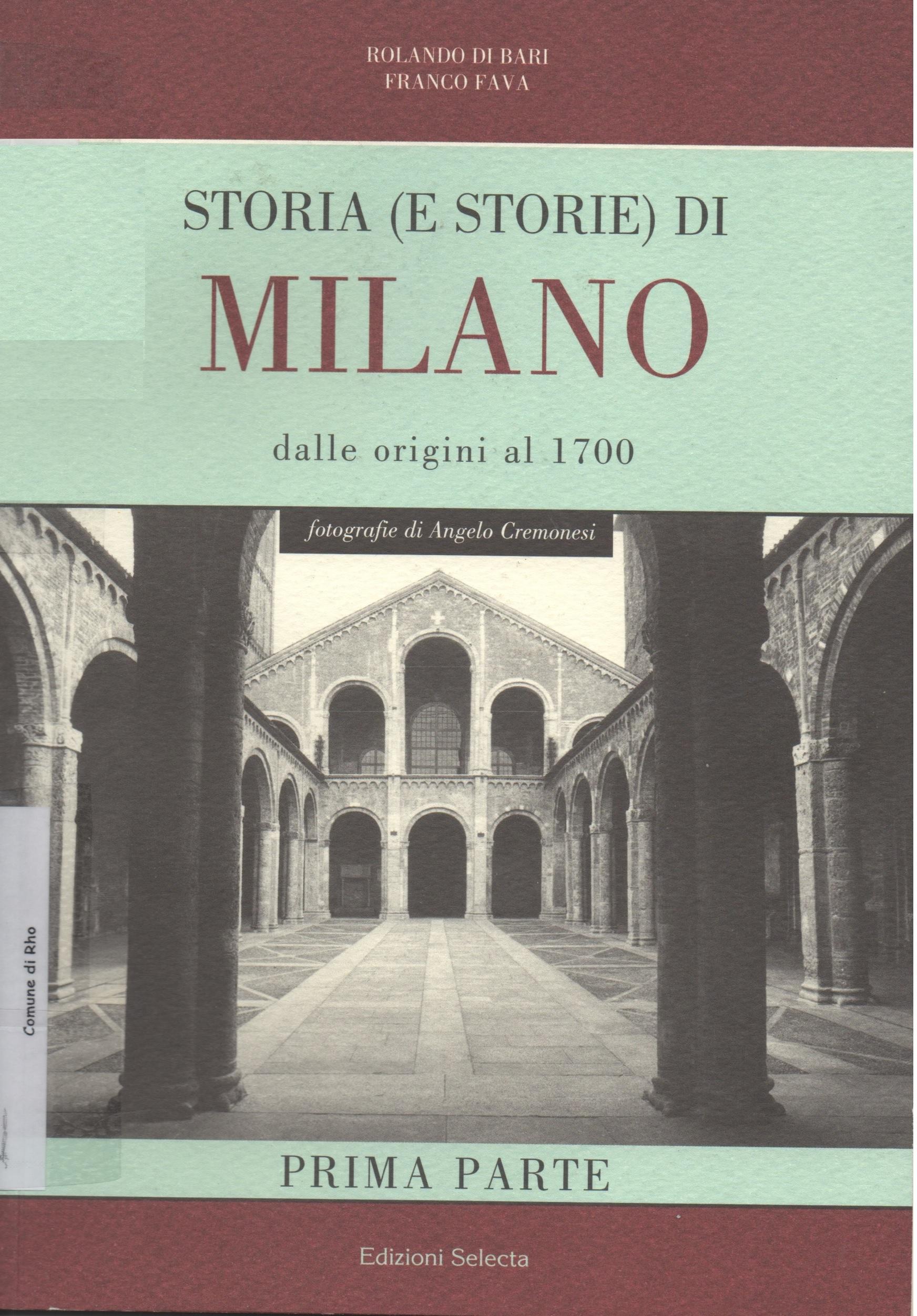 Storia (e storie) di Milano
