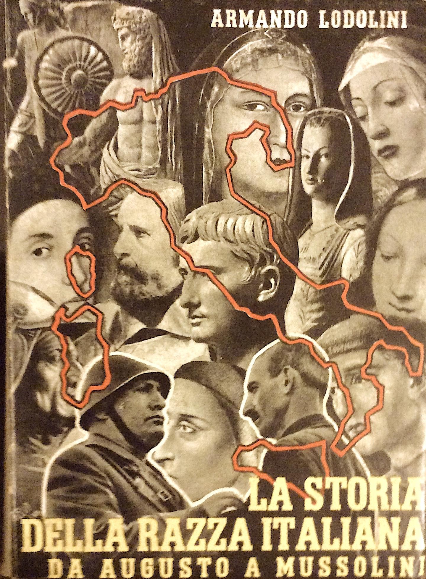 La storia della razza italiana da Augusto a Mussolini