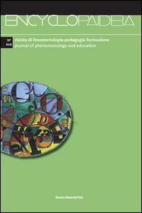 Encyclopaideia. Rivista di fenomenologia, pedagogia, formazione. Ediz. italiana e inglese