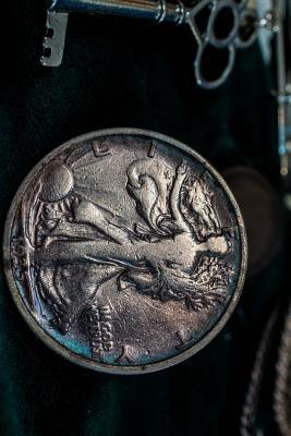 Walking Liberty Half Dollar Coin Journal