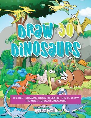 Draw 30 Dinosaurs