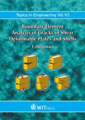 Boundary Element Analysis of Cracks in Shear Deformable Plates and Shells