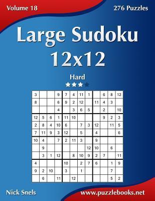 Large Sudoku 12x12 -...