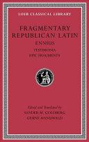 Fragmentary Republican Latin I