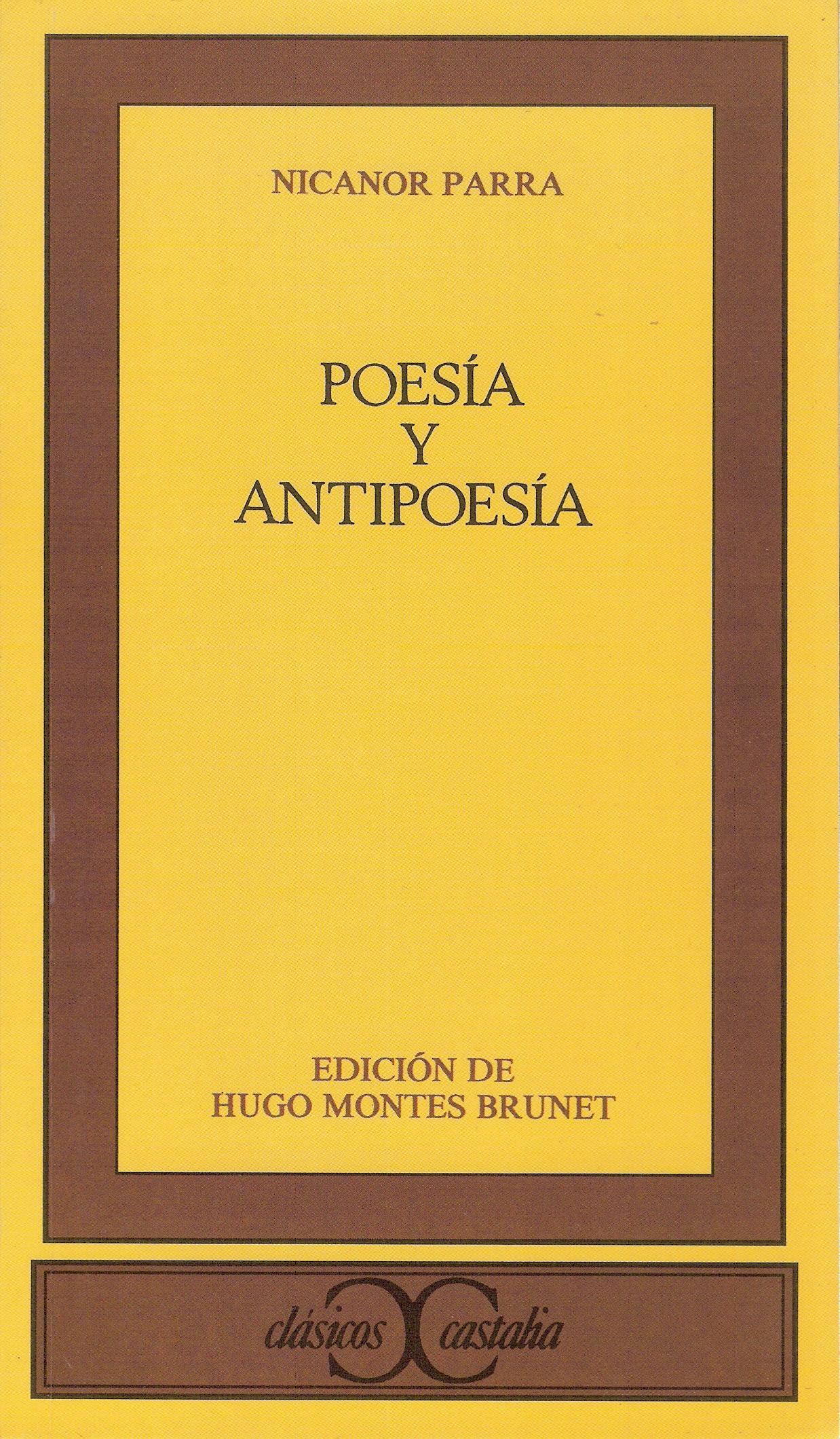 Poesía y antipoesí...