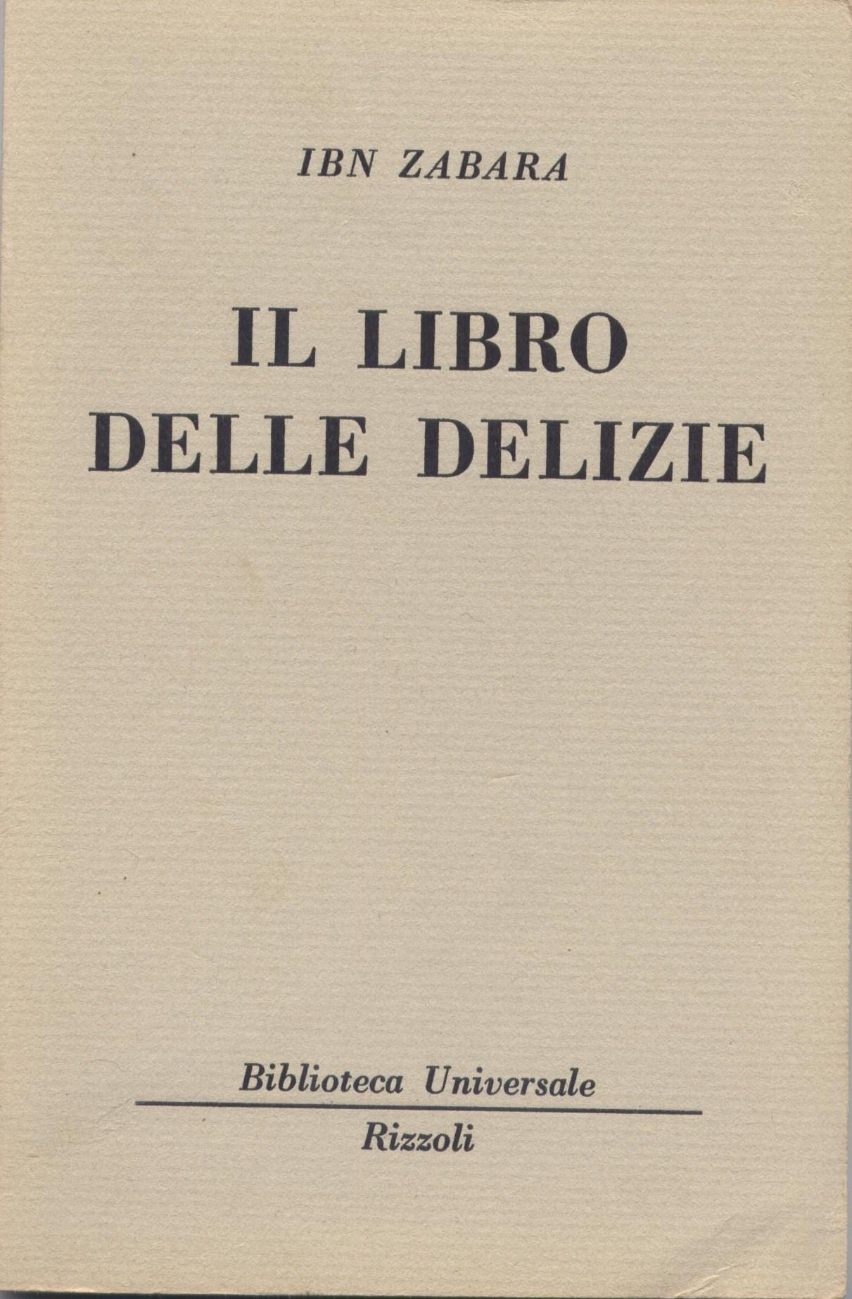 Il libro delle delizie