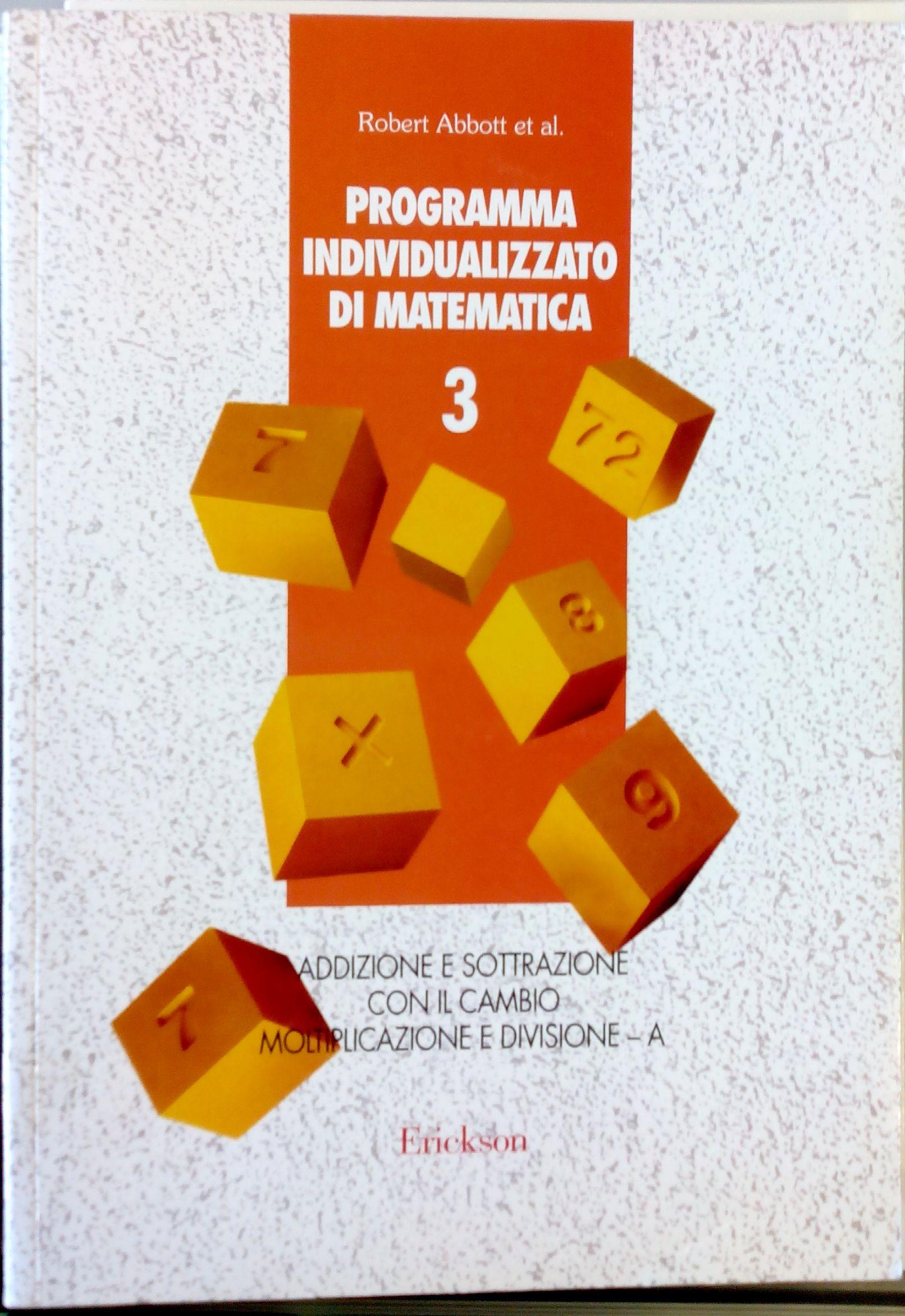 Programma individualizzato di matematica