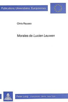 Morales de «Lucien Leuwen»