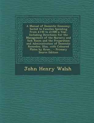 A Manual of Domestic Economy