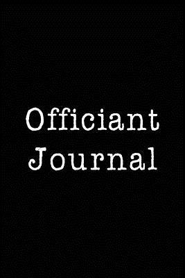 Officiant Journal