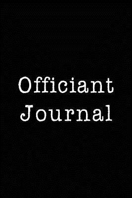 Officiant Journal