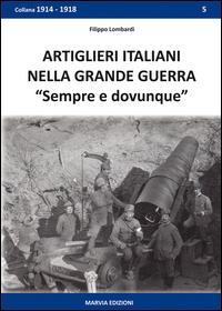 Artiglieri italiani nella grande guerra