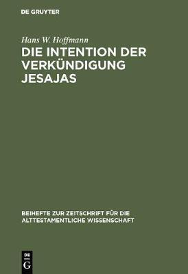 Die Intention Der Verkündigung Jesajas