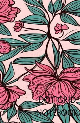 Dot Grid Notebook Drawn Flower