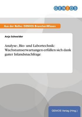 Analyse-, Bio- und Labortechnik