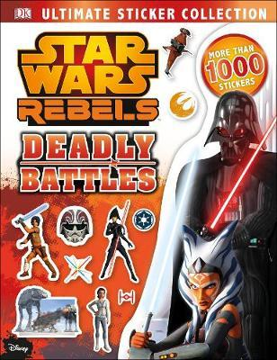 Star Wars Rebels Ultimate Sticker Collection Deadly Battles
