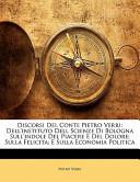 Discorsi Del Conte Pietro Verri