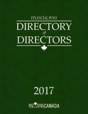 Financial Post Directory of Directors 2017