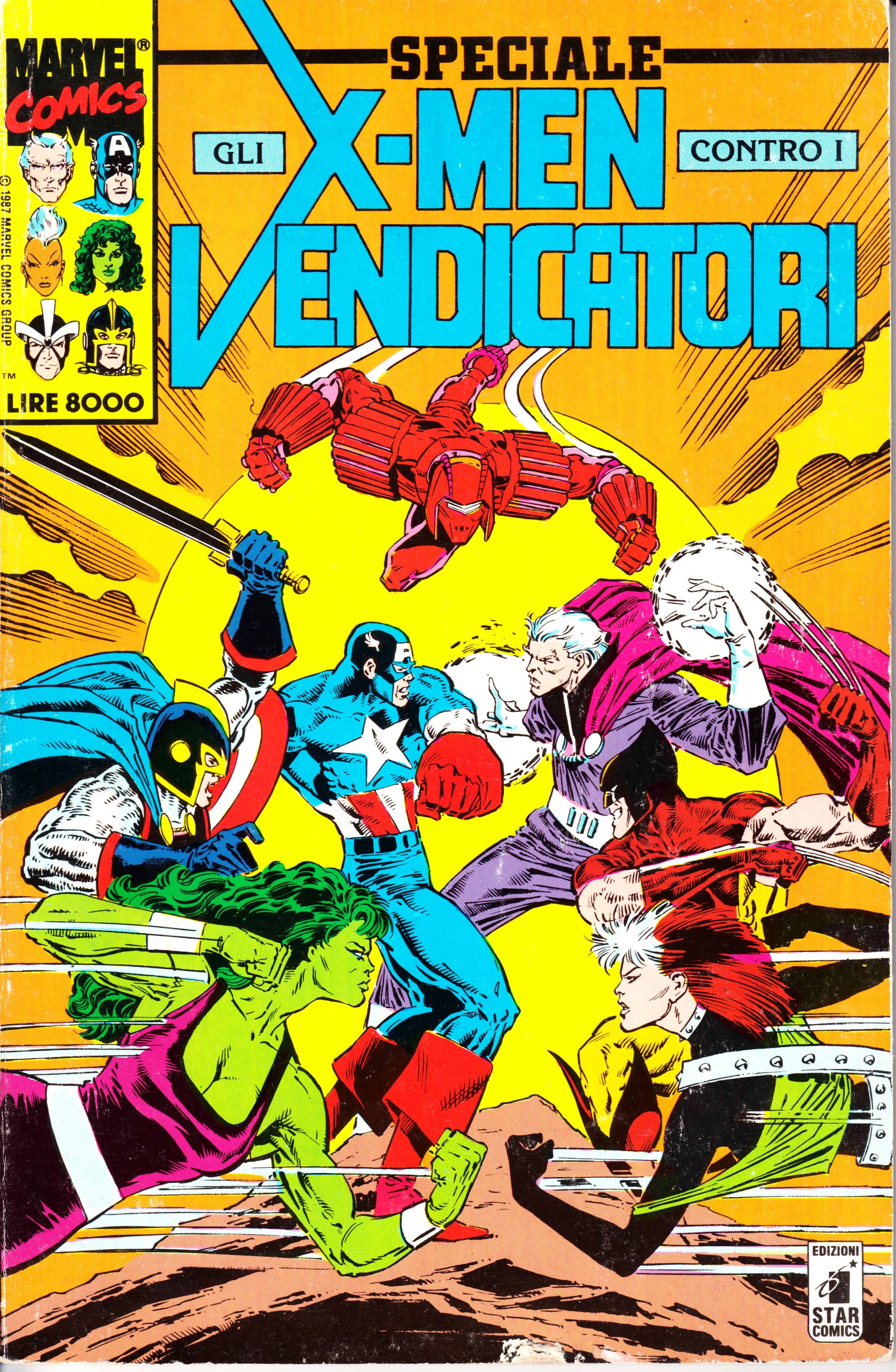 Speciale X-Men contr...
