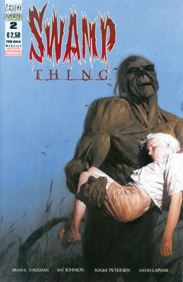 Swamp Thing di Brian K. Vaughan n. 2