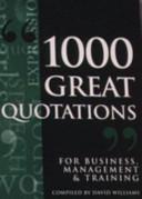 1000 Great Quotation...