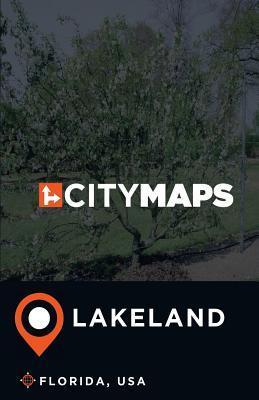 City Maps Lakeland Florida, USA
