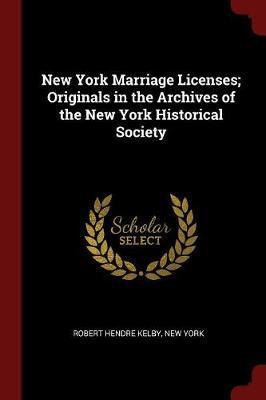 New York Marriage Li...