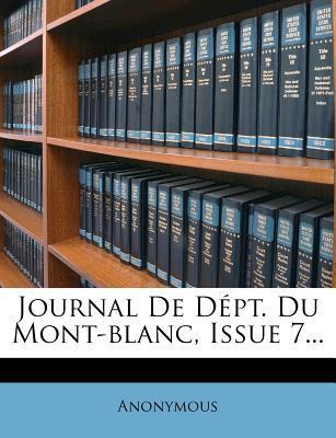 Journal de Dept. Du Mont-Blanc, Issue 7...