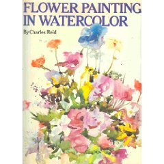 Flower painting in w...